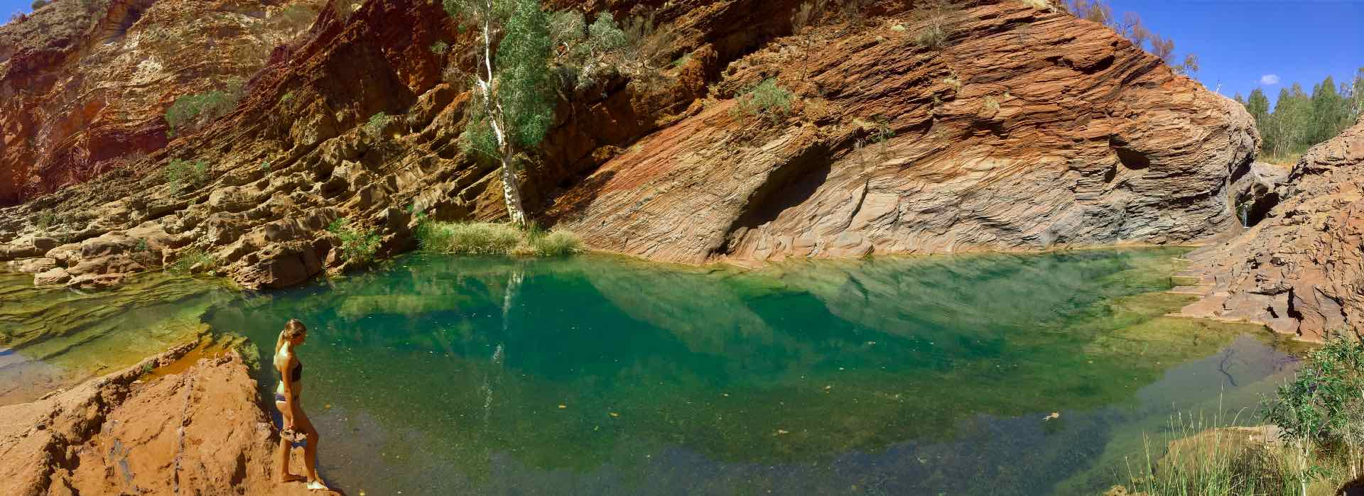 OZIAN Westaustralien Highlights Karijini National Park Hamersley Gorge
